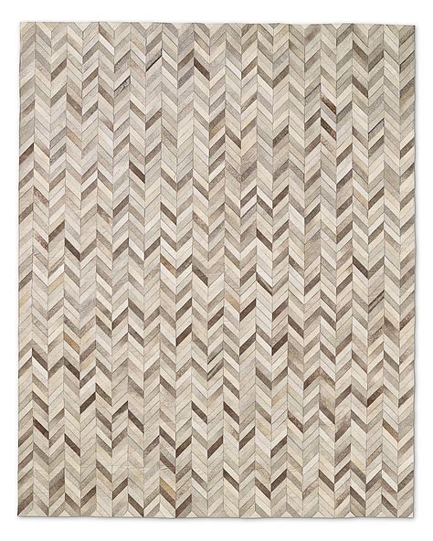grey cowhide rugs chevron cowhide rug grey