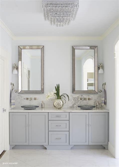 gray dual vanity  alabama marble countertops