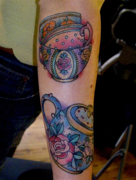 teapot tattoo teapot tattoos and ideas