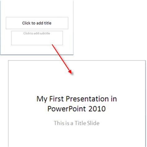 auto layout powerpoint 2010 how to use powerpoint 2010 slide layouts