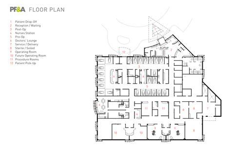 Ambulatory Surgery Center Floor Plans by Ambulatory Surgery Center Sentara Obici Hospital Pf A Design