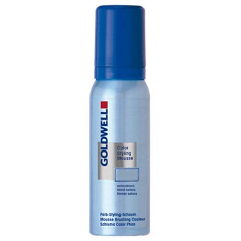 coloring mousse goldwell colorance color styling mousse