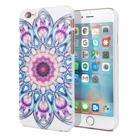 Iphone Iphone 6 Aztec Flowers On Galaxy aztec ultra light iphone 6s 6 shell floral reviews