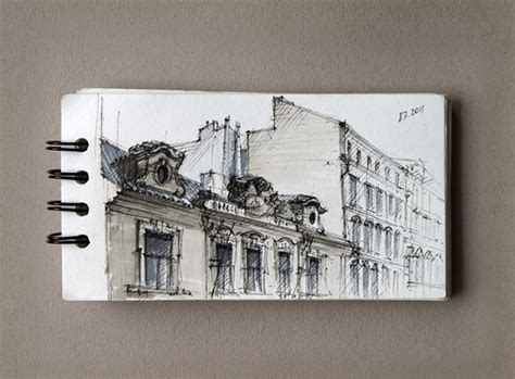 sketchbook architecture my architectural sketchbook on behance