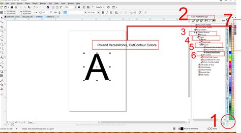 corel draw x7 tools pdf roland cutcontour colour coreldraw x8 coreldraw