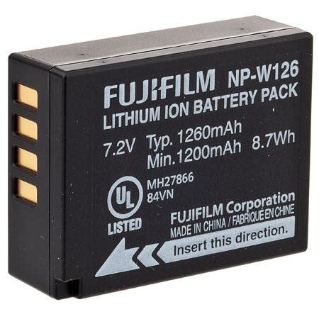 Fujifilm Np W126 Batterai Pack fujifilm np w126 battery for digital cameras 16225858