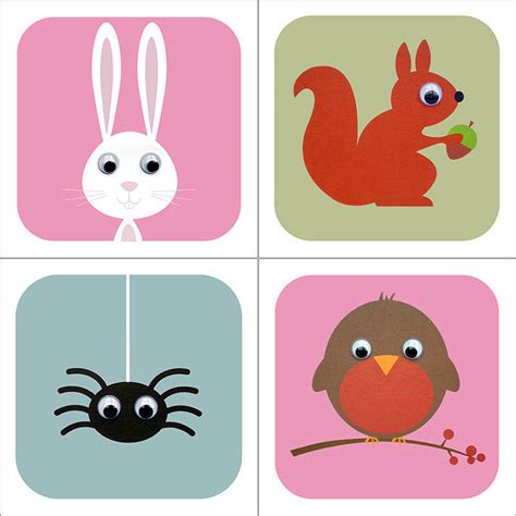 Cards Animals - woodland animal cards by stripeycats notonthehighstreet
