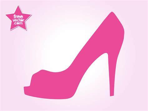 Heels Simple Gelang Hitam Dr6 high heel shoe vector graphics freevector
