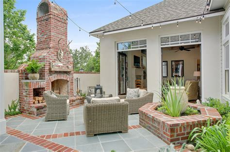 house patio courtyard traditional patio new orleans by highland homes inc
