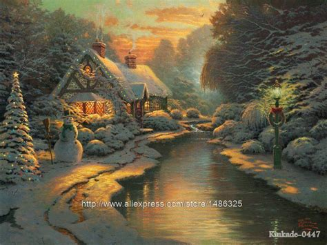 home interiors kinkade prints prints for sale kinkade evening paintings for bedrooms canvas decoration