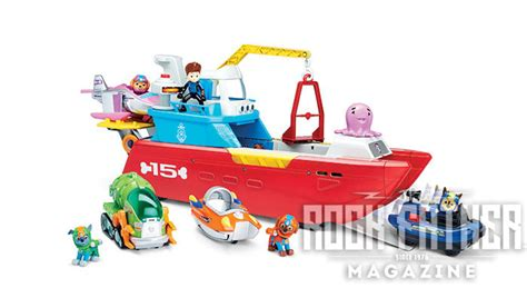 paw patrol boat rescue tfny toy fair first look paw patrol s 2017 lineup