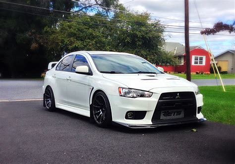 white mitsubishi evo wallpaper mitsubishi lancer body kits autos weblog