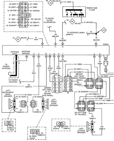 89 jeep stereo wiring diagram jeep auto wiring