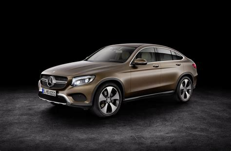 mercedes coupe mercedes glc coupe for those who place style