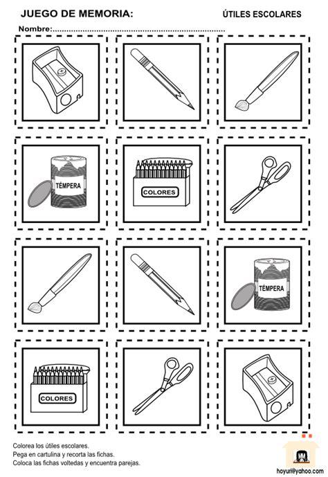 imagenes de utiles escolares para inicial imagenes en frances de utiles escolares para recortar imagui