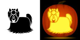 yorkie pumpkin stencil new pumpkin stencils animals haunted house pentagram and more