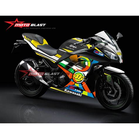 Decal Stiker 250r Green 2018 motoblast thegibbonsschool