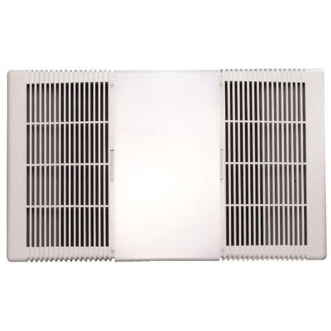 nutone rp  cfm bathroom exhaust fan  heater  incandescent light ebay