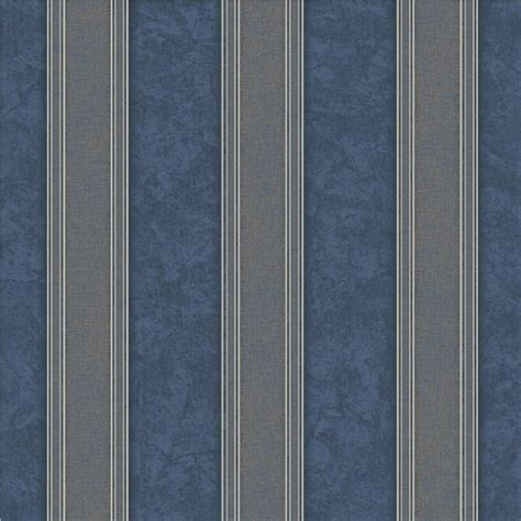 striped blue wallpaper uk grandeco venice stripe textured blown vinyl wallpaper vna