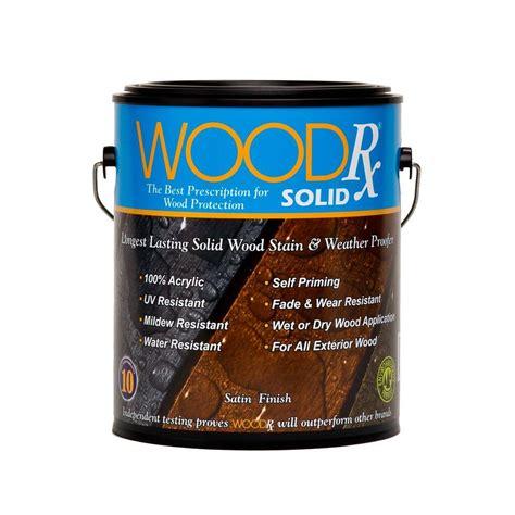 woodrx  gal suede solid wood stain  sealer