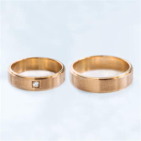 Hochzeitsringe Rosegold by Klenota Goldene Hochzeitsringe Ros 233 Gold Trauringe