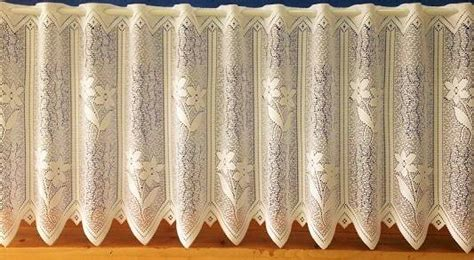 Lace Cafe Curtains Chelsea Cafe Curtain Heavy Lace Net Curtain 2 Curtains