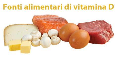alimenti con vitamina d vitamina d carenza alimenti e integratori