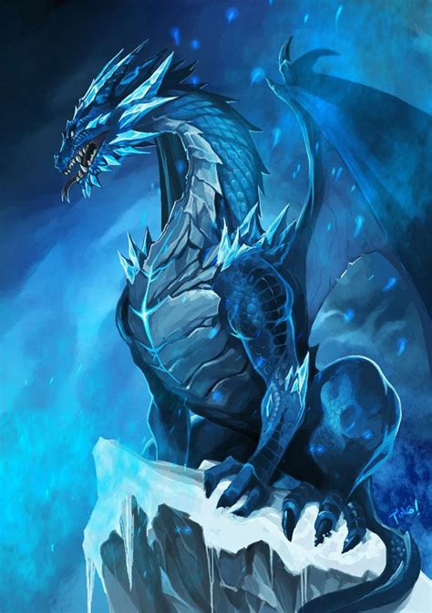 the ice dragon the realm of fantasy dragon human roleplay open and accepting
