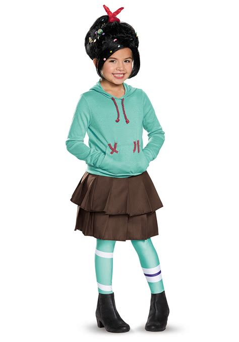 halloween costumes child deluxe vanellope von schweetz costume