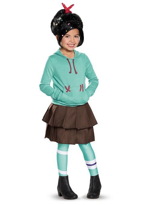 costume ideas child deluxe vanellope schweetz costume