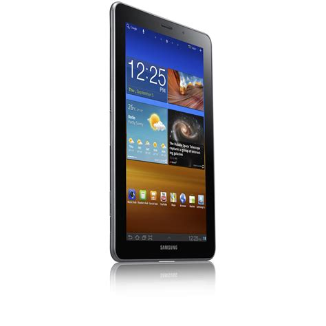 Samsung Tab 1 7 Samsung Galaxy Tab 7 7 Features 1 4 Ghz Cpu Amoled Plus Display Android Honeycomb