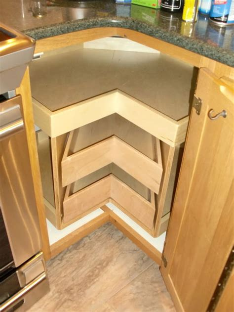 Pull Out Kitchen Storage Ideas corner cabinet solutions