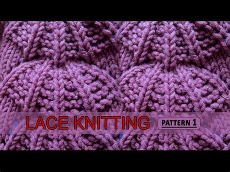 youtube knitting pattern lace knitting pattern 1 youtube
