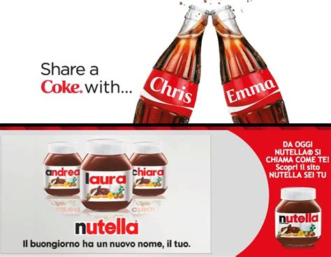 si鑒e social coca cola coca cola e nutella debranding e iniziative social