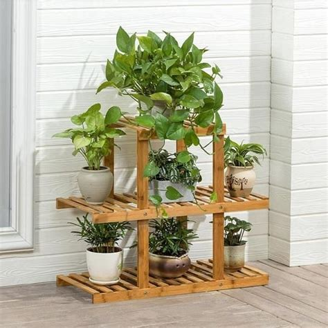 heavy duty flower planter solid multiple tier plant stand