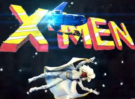 theme music action x men 1990s cartoon theme song done with action figures