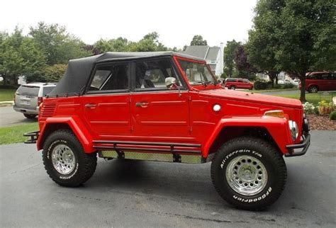 volkswagen thing 4x4 vw thing red and lifted das thing pinterest cars