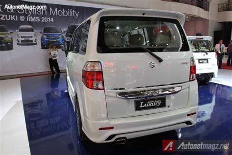 Apv Luxury by Suzuki Apv Luxury 2014 V 2 Hadir Di Iims 2014 Autonetmagz