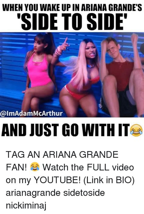 ariana grande biography tagalog 25 best memes about side to side side to side memes