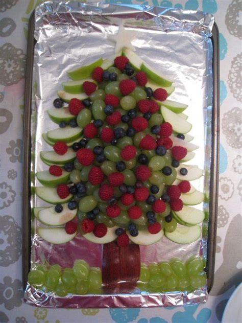 healthy holiday fruit platter