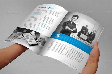 free indesign report templates annual report brochure indesign template by braxas