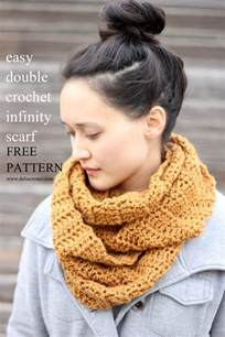 Crochet Infinity Scarf Patterns Triangle Infinity Scarf Crochet Pattern Images