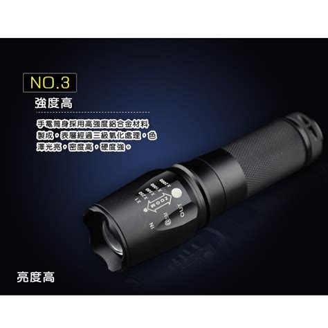 Senter Led Mini senter mini tactical xpe led w 01 black