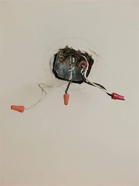 Ceiling Light Ground Wire Electrical How To Connect My New Light Fixture That Has 2 Ground Wires To The Ceiling Box