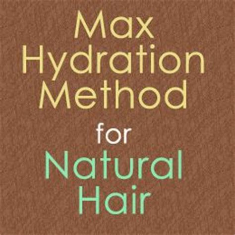 the max hydration method is it for you the mane pinterest the world s catalog of ideas