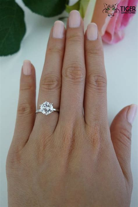 2 Carat Ring by 2k Rings Wedding Promise Engagement