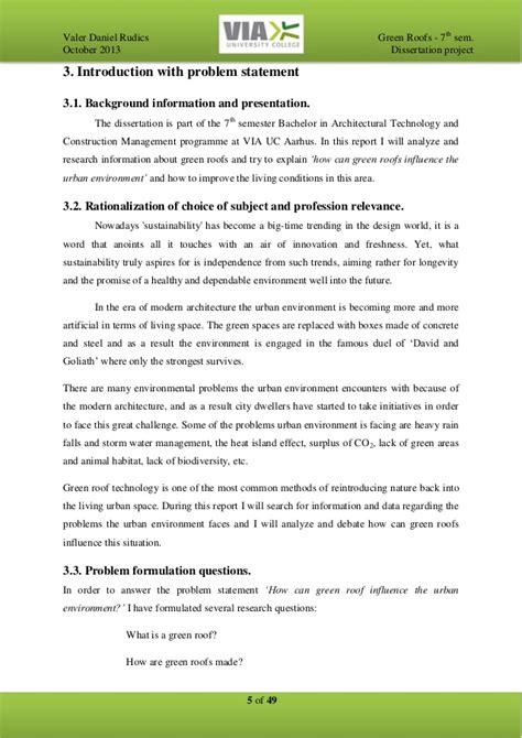 dissertation projects valer daniel rudics green roofs dissertation project