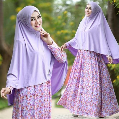 Gamis Set Jilbab Murah Cantik Annisa gamis cantik murah b105 afifah syar i model baju muslim