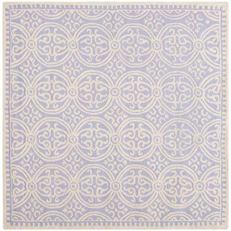 Safavieh Lavender Rug Safavieh Cambridge Lavender Ivory 6 Ft X 6 Ft Square