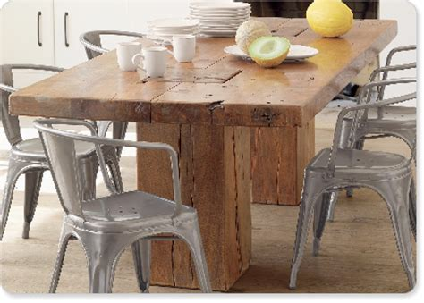 rustic dining room table modern chairs lovin sundance s rustic modern dining sets